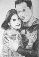 Lois and Superman by ArtLucie