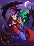 Morrigan and Lilith by yunamoonflower