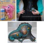 Mini Seahorse Bubble Gun by Caitiekabob