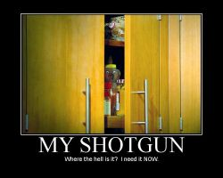 my shotgun by yq6