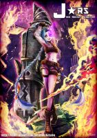 JINX_ROCKET_SHOOTER by crellia