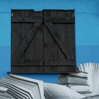 about literary walls by m-lucia