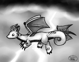 Dragon Flying by Spice5400