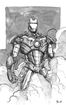 i am iron man by alanrobinson