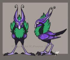Gem bird by Key-Feathers