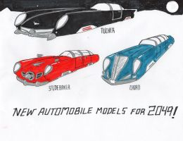 Cars from the World of Tomorrow by fhgonzalez