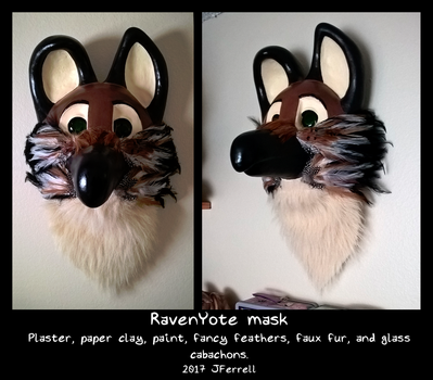 RavenYote mask by julianwilbury