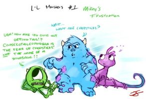 Lil Monsters by J-Spence