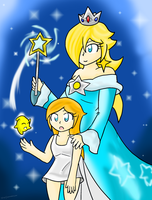 Rosalina: Past and Present by Xero-J