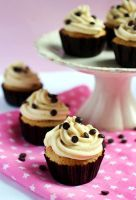 Cookie dough cupcakes by xSugarFairyx