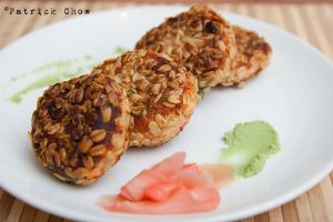 Salmon fish cake 1 by patchow
