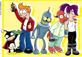 Futurama fun by terozi