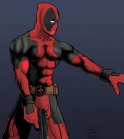 Deadpool by Wallcrawler62