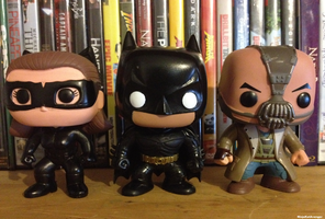 My Little Dark Knight Rises Collectables by NinjaKatAvenger