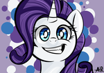 Rarity smile by clayman778