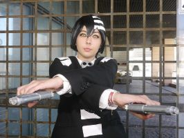 Cosplay - Soul Eater (Death the Kid) by GoldSenshiNoHanoko