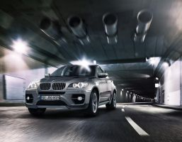 BMW X6 tunnel by MUCK-ONE