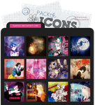 Pack de Icons #1 by Kyantsu