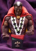 Brother Voodoo mini bust by abe6565