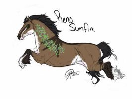 #964 Reno Sunfire( Old ref) by shockmyworld12