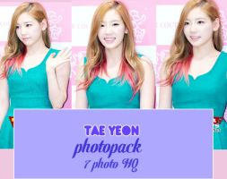 Photopack Tae Yeon - SNSD 001 by quyenluv003