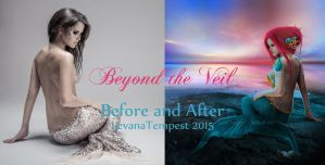 Before and After Beyond the Veil by LevanaTempest