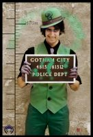 The riddler- Gotham POlice Dept by JonathanDuran