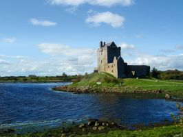 Dunguaire Castle. by Siiil