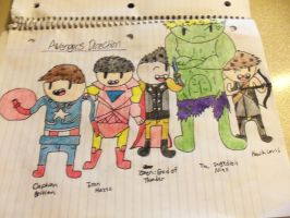 Avengers Direction by thesealpup