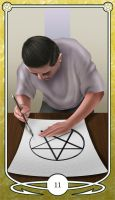 Page of Pentacles by Shegon