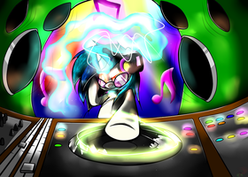 Vinyl Scratch by TurrKoise