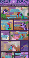 Rocket to Insanity: Common Differences 12 by seventozen