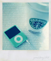 starbucks and ipods by gameboycolor