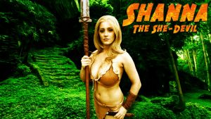 Shanna cosplay wp starring Abby Dark-Star by SWFan1977