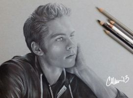 Dylan O'Brien Drawing by Live4ArtInLA