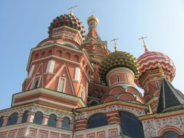 Another angle of St Basil's by HGABALDON