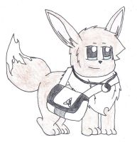 Harold The Eevee 2 by SesshaXIII