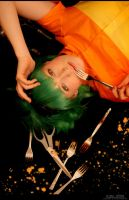 Vocaloid - Forks 'n Scissors by aco-rea