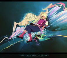 Virtue and vice in dreams by Thez-Art