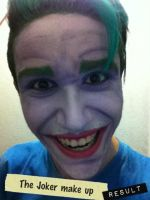 The Joker Make up by jaacksays