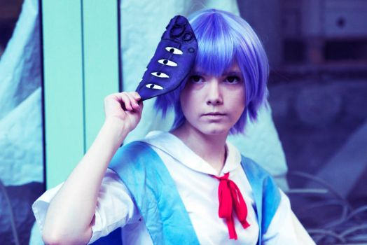 Rei  Ayanami - Lilith's mask by Misanthroph