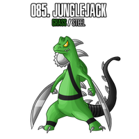 Fakemon: 85 by MTC-Studios