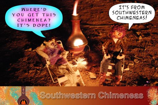 Southwestern Chimeneas by theDopeFiends