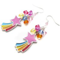 Shooting Stars Earrings by fairy-cakes