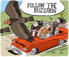 Follow The Buzzards by jkipper