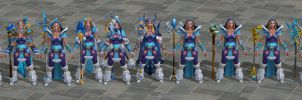 'DOTA 2' Crystal Maiden Pack 2.0 XPS ONLY!!! by lezisell