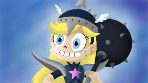 Star Butterfly The Barbarian by Star-Butterfly