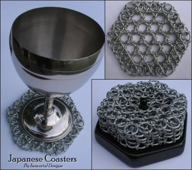 Japanese Coasters by immortaldesigns