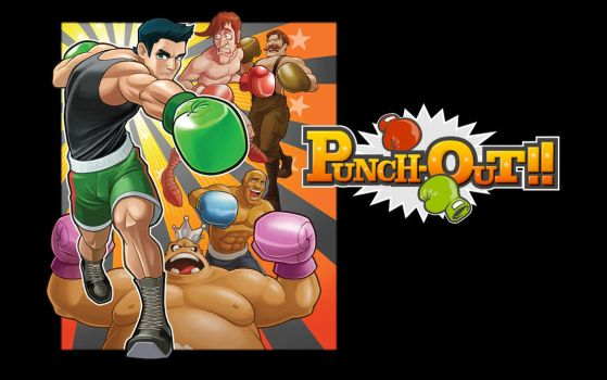 Punch-Out Wallpaper by Crash36