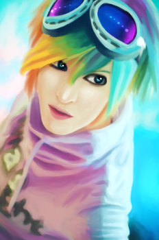 Rainbow Boy by lNeliel